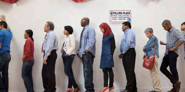 Bolder Together Report Polling Place Photo