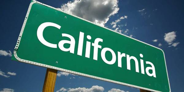 California Sign from iStock