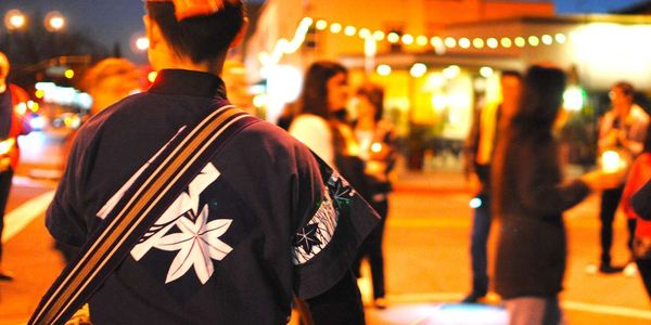 San Jose Taiko photo by Allison Ishida