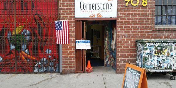 Cornerstone Front Door CA Primary Day