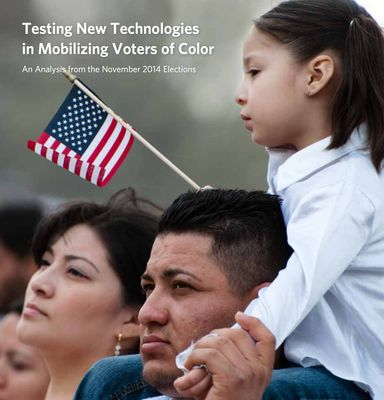Testing New Technologies in Mobilizing Voters of Color Report Cover